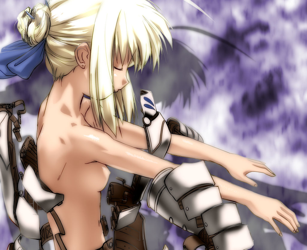 Saber Fate/Stay Night Hentai 01
