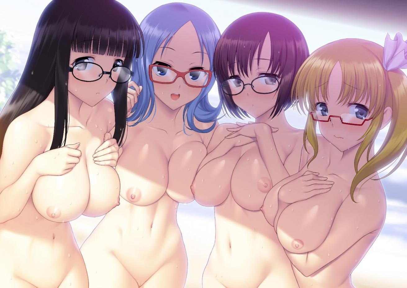 Thirty Hentai Drawings Of Girls With Glasses