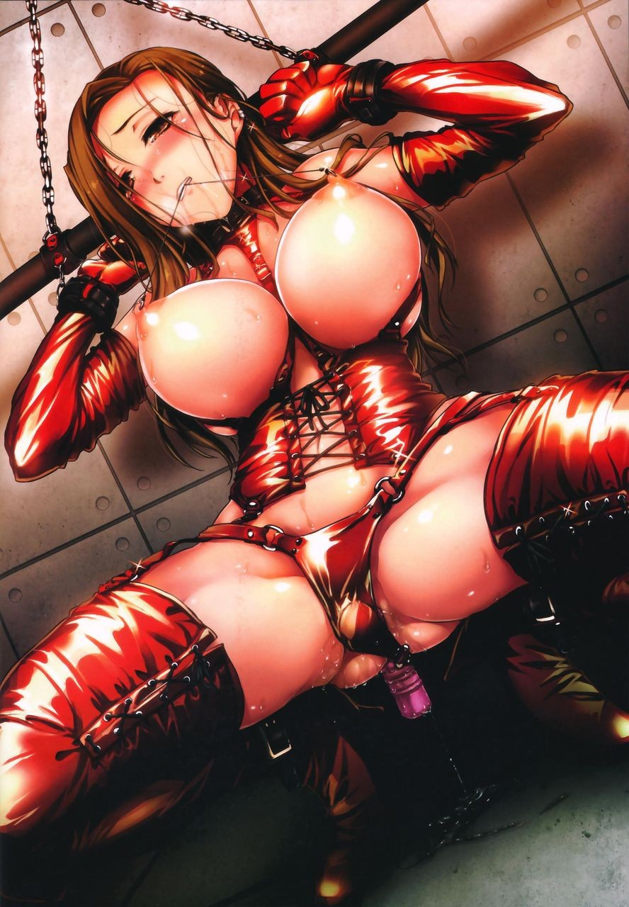 Thirty Outrageous Japanese Bondage Hentai Drawings