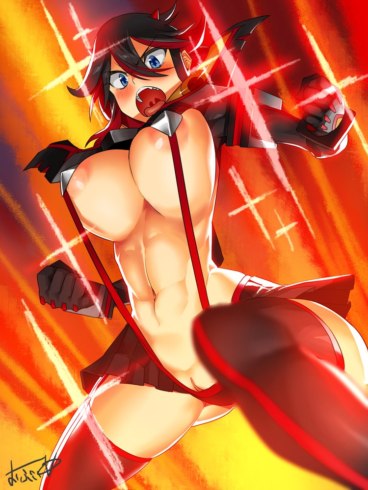 Thirty New Hentai Drawings Of Ryuuko Matoi