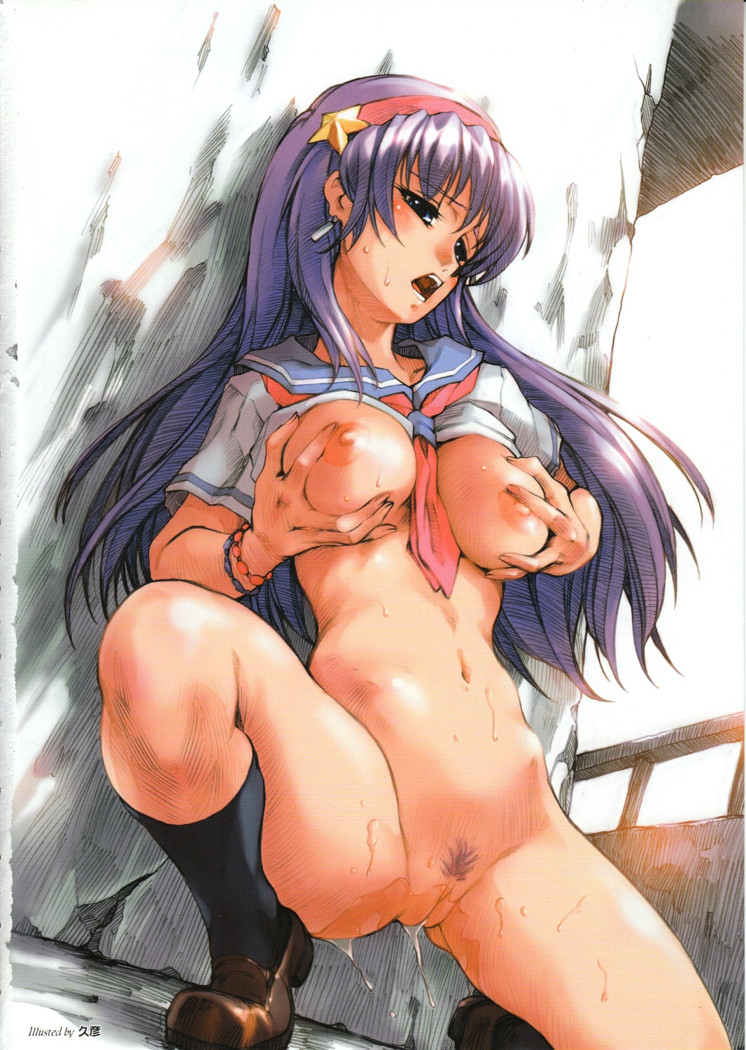 Thirty Hentai Drawings Of Athena Asamiya