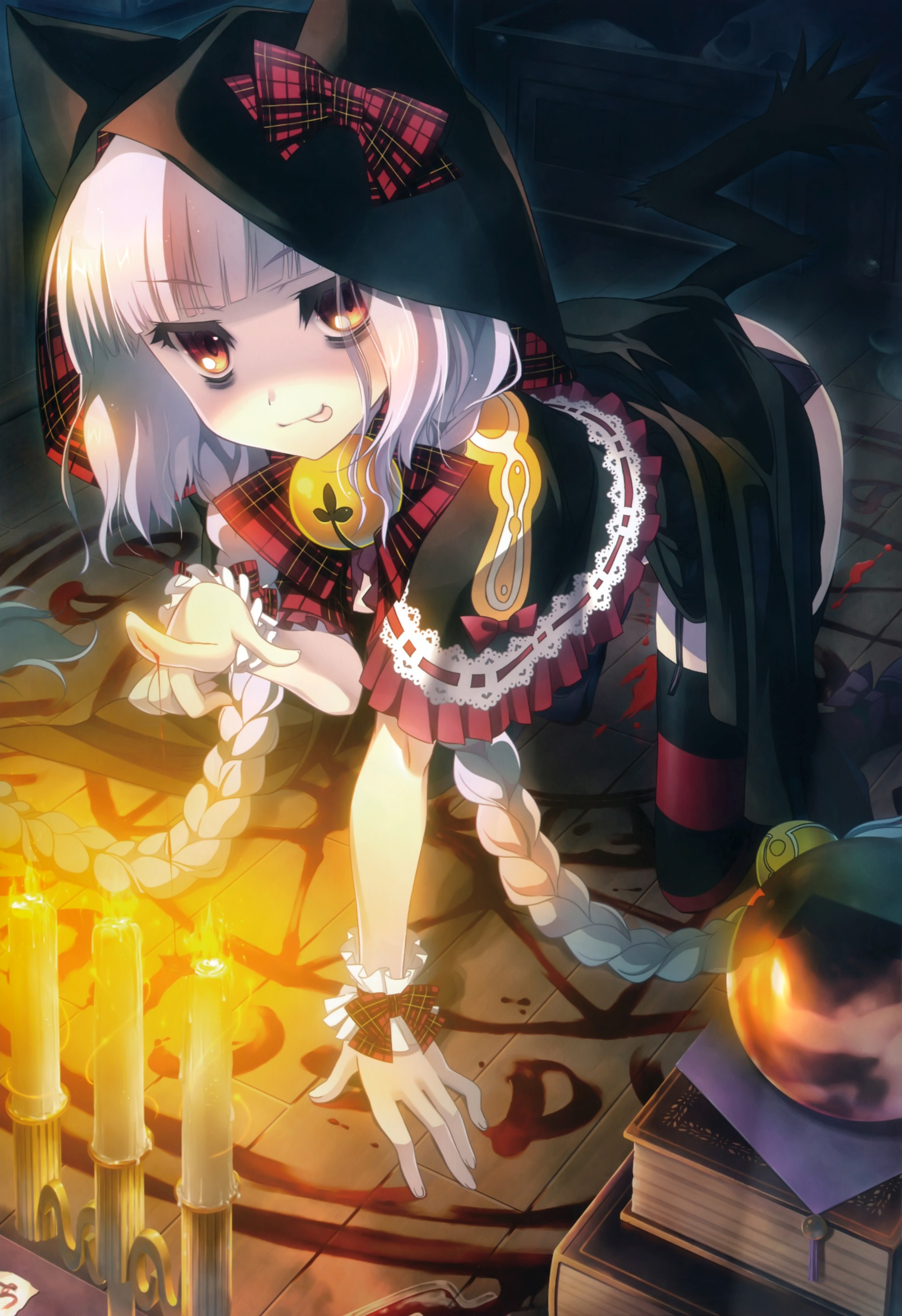 Non-Erotic Halloween Themed Moe Artwork