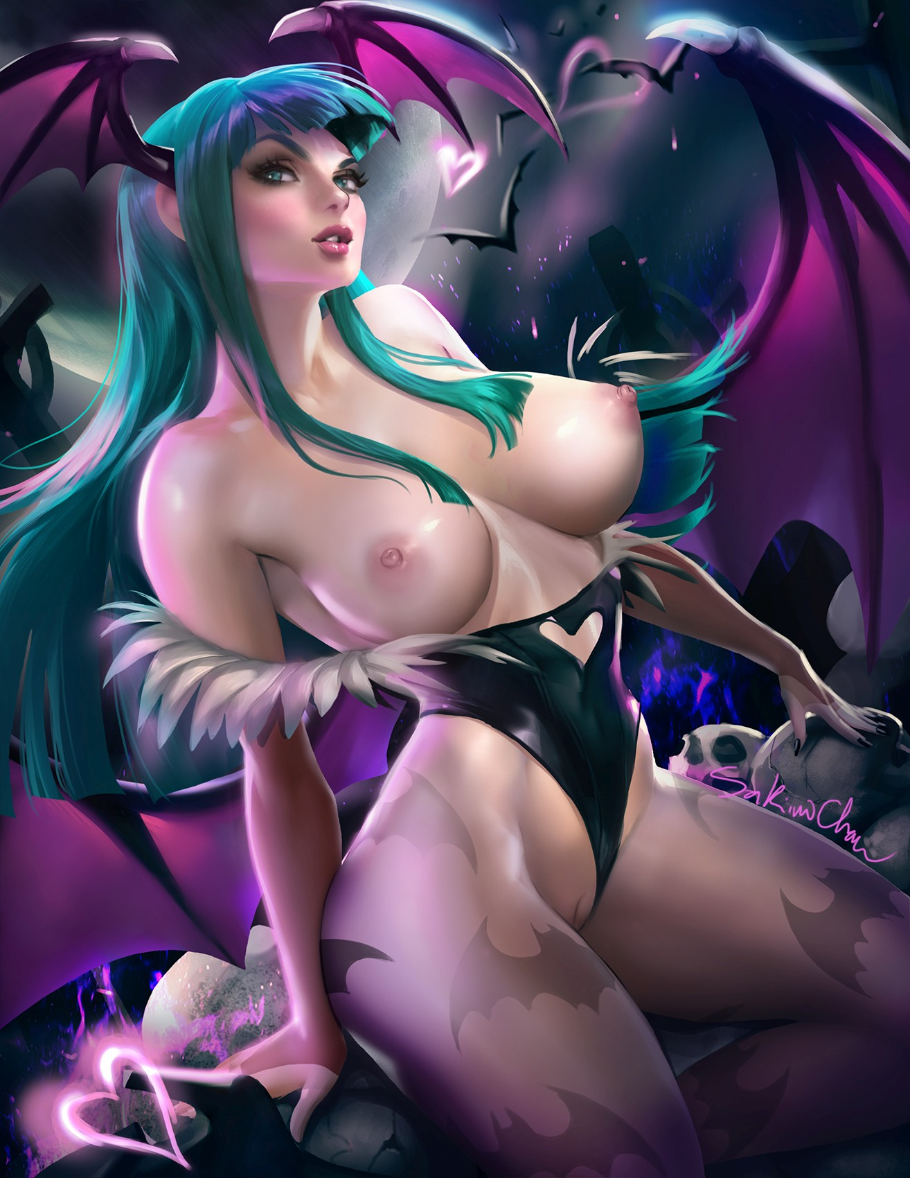 Thirty Hentai Pictures Of Morrigan Aensland From Darkstalkers