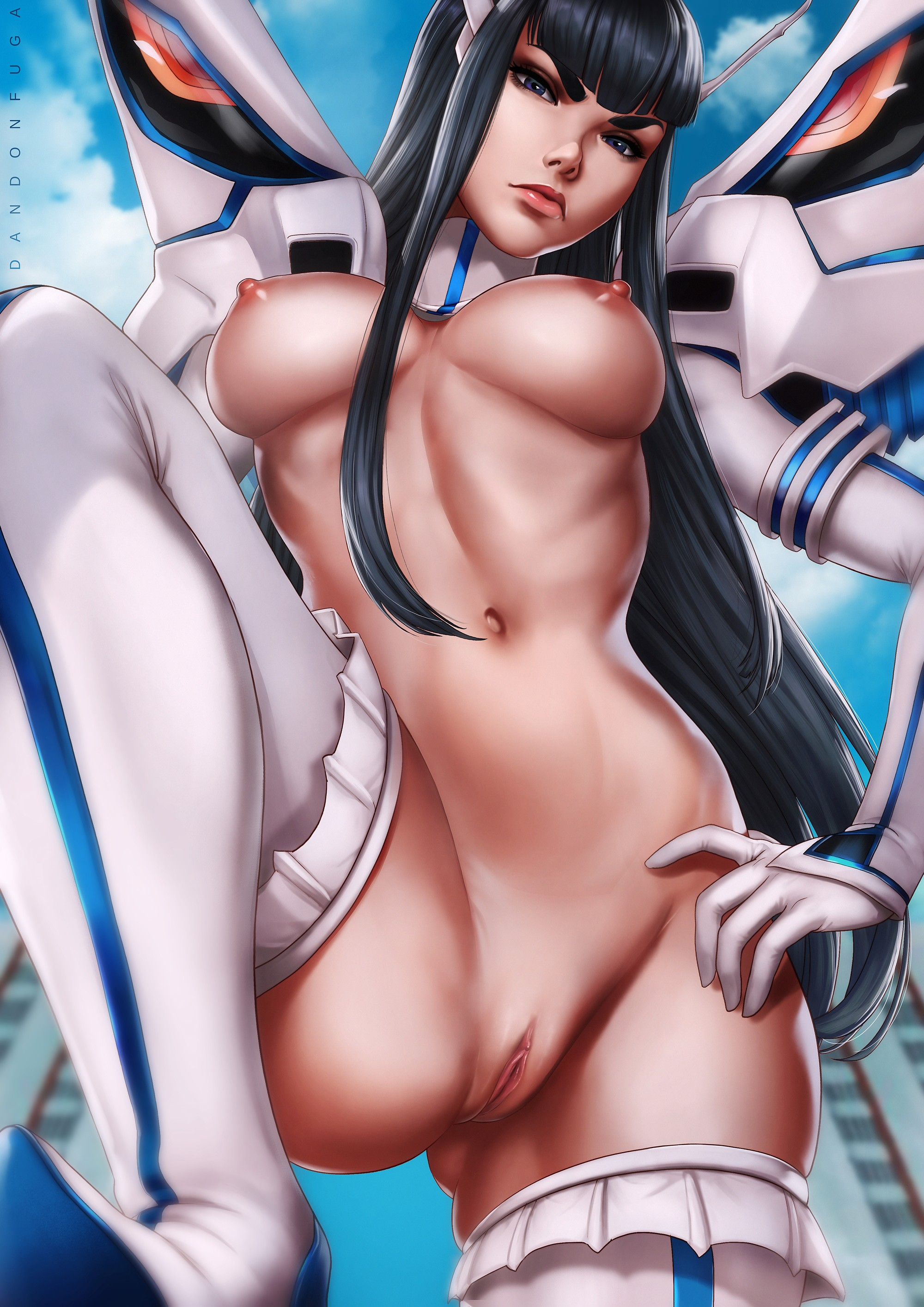 Hentai Drawings Of Satsuki Kiryuuin From Kill La Kill