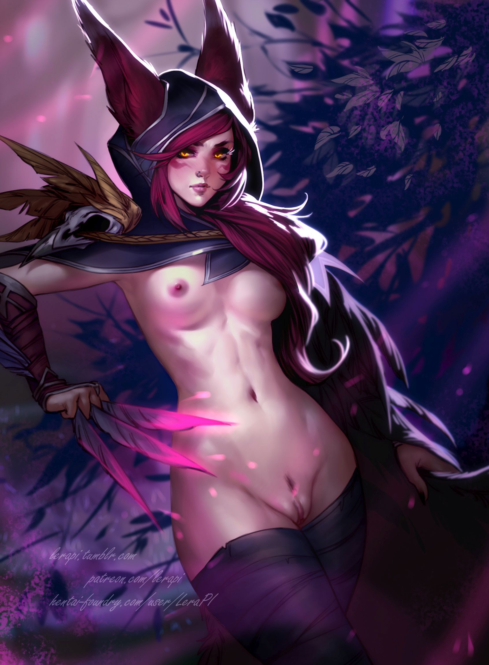 Thirty Hentai Pics Of Xayah From League Of Legends