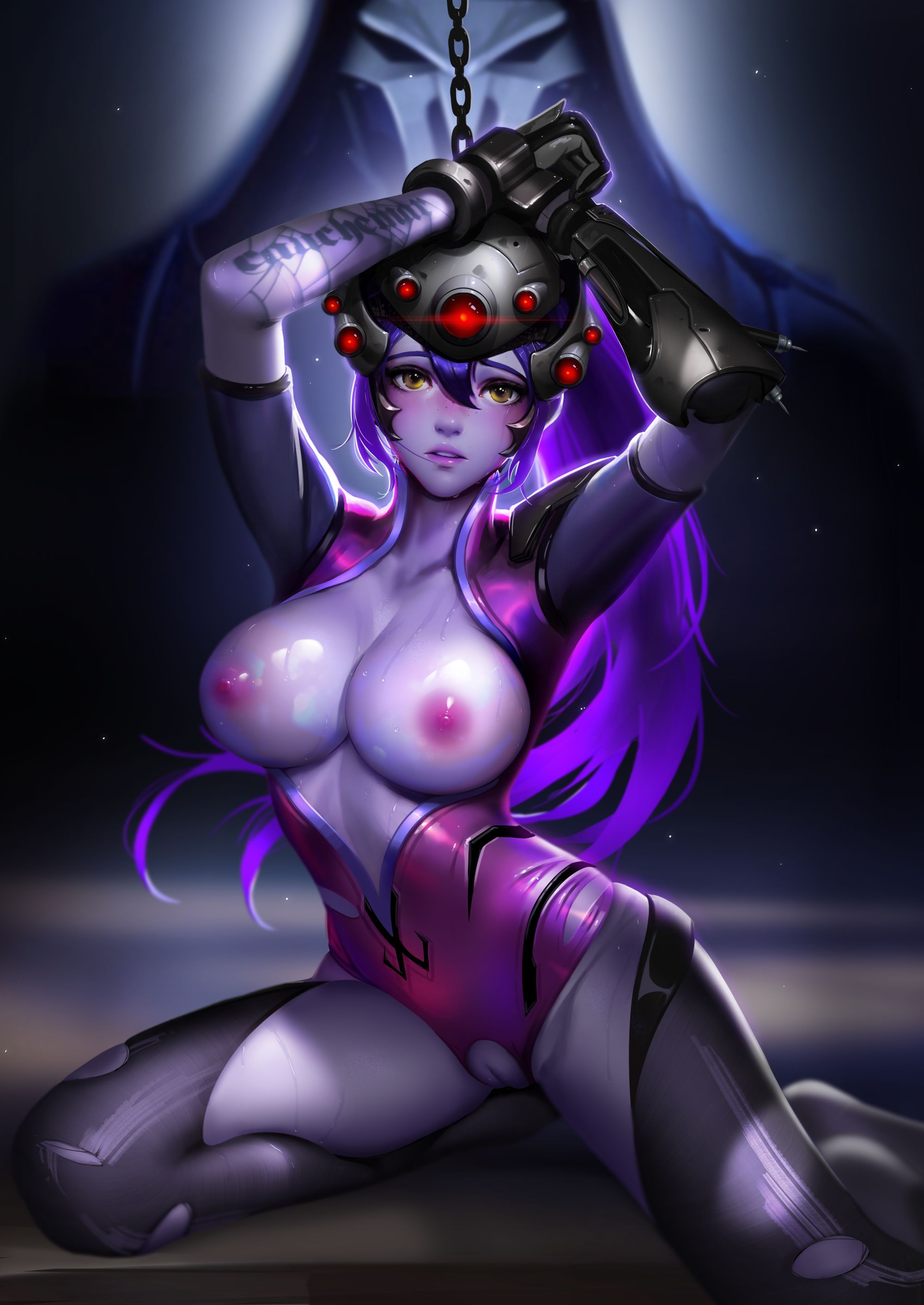 Thirty Hentai Drawings Of Widowmaker From Overwatch