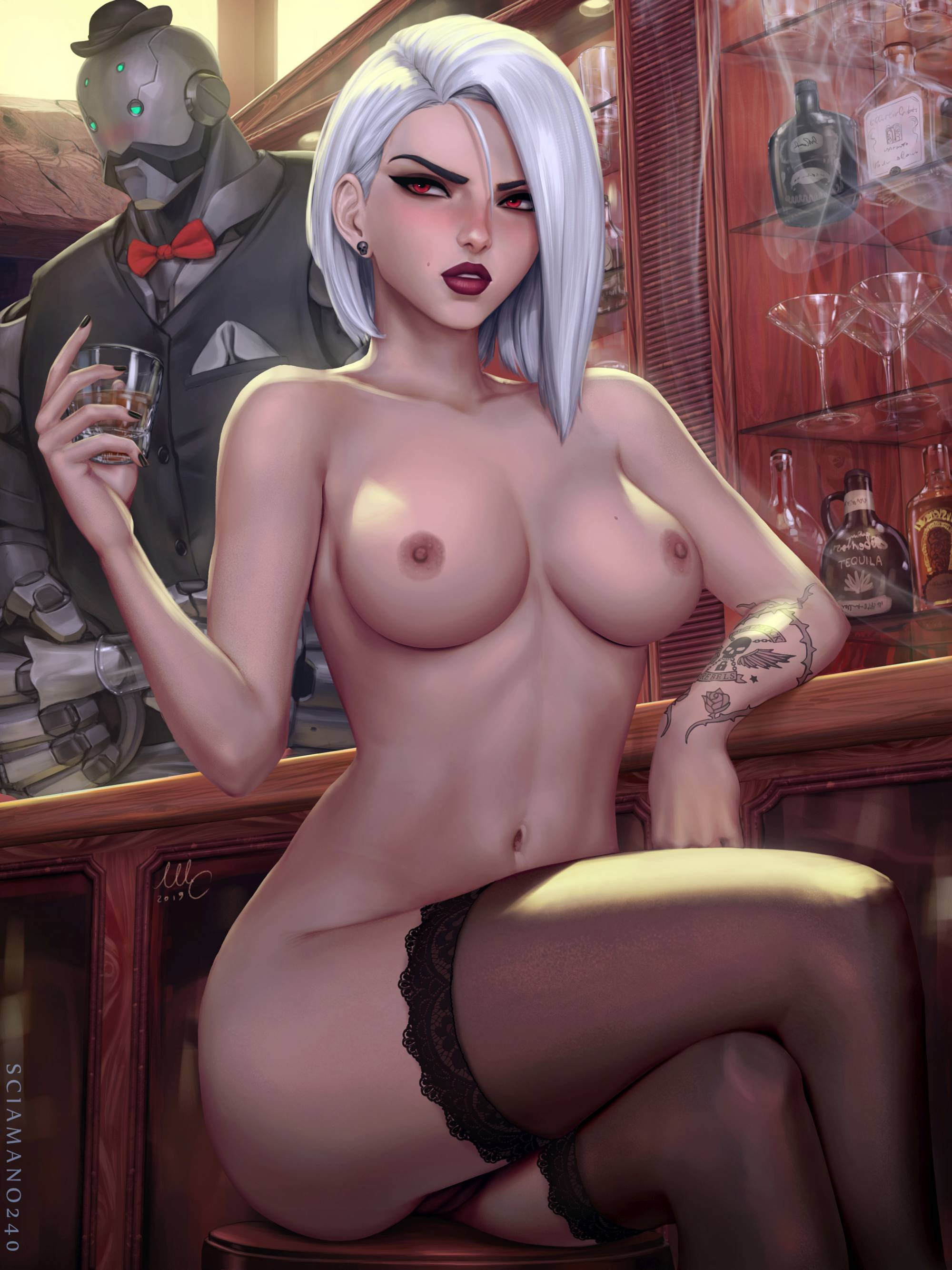 Thirty More Hentai Drawings Of Ashe From Overwatch