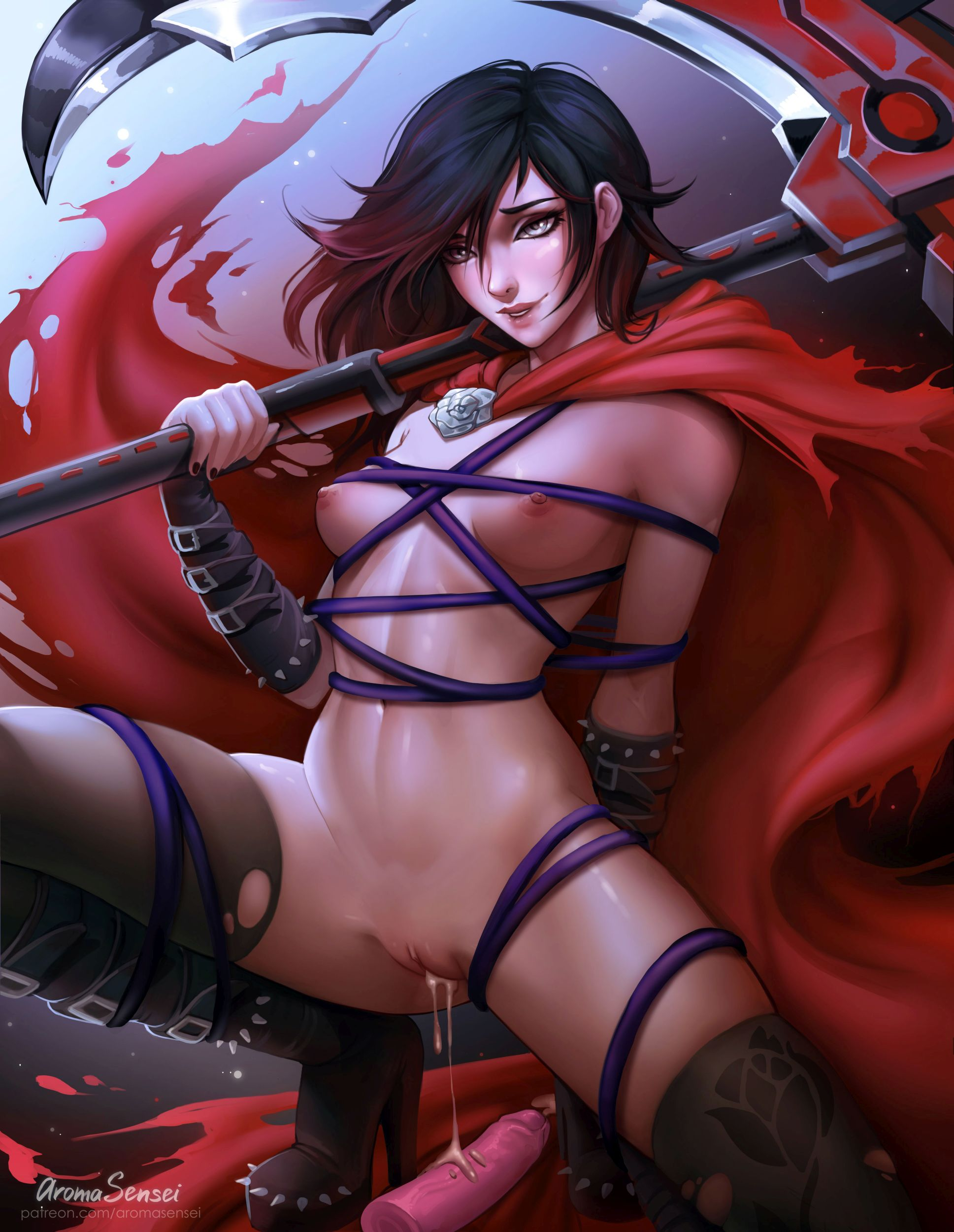 Thirty More Hentai Pics Of Ruby Rose From RWBY
