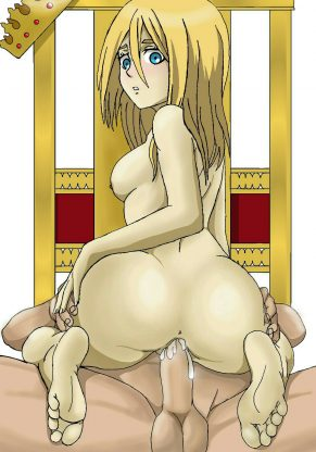 Hentai Drawings Of Christa Renz From Attack on Titan 17