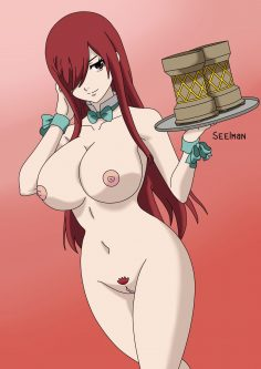 More Hentai Drawings Of Erza Scarlet From Fairy Tail 16 scaled