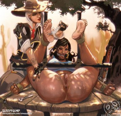 Thirty More Hentai Drawings Of Pharah From Overwatch 21