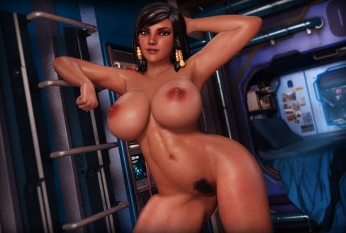 Thirty More Hentai Drawings Of Pharah From Overwatch 27