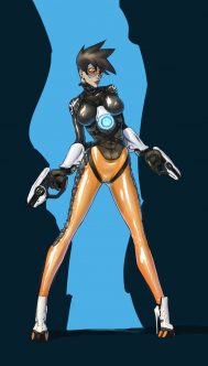Forty More Hentai Drawings Of Tracer From Overwatch 13