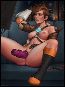 Forty More Hentai Drawings Of Tracer From Overwatch 37