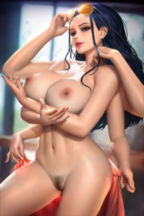 Forty More Hentai Pics Of Nico Robin from One Piece 24 scaled