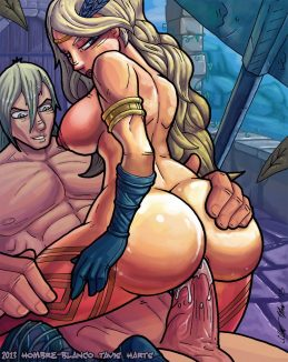 Forty Uncensored Anal Sex Hentai Drawings 16