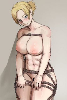Thirty More Hentai Pics Of Annie Leonhart From Attack on Titan 6