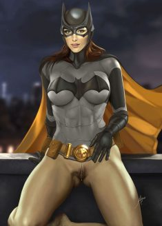 Forty Hentai Pics Of BatGirl From Justice League 11