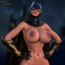 Forty Hentai Pics Of BatGirl From Justice League 28