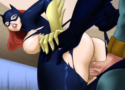 Forty Hentai Pics Of BatGirl From Justice League 34