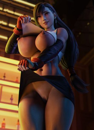 Forty More Hentai Drawings Of Tifa Lockhart From Final Fantasy VII 14