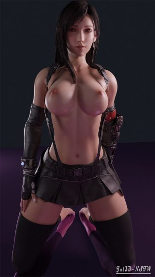 Forty More Hentai Drawings Of Tifa Lockhart From Final Fantasy VII 2