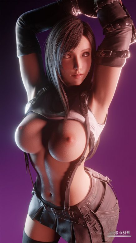 Forty More Hentai Drawings Of Tifa Lockhart From Final Fantasy VII 34