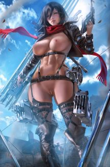 Forty More Hentai Pics Of Mikasa Ackerman from Attack on Titan 14