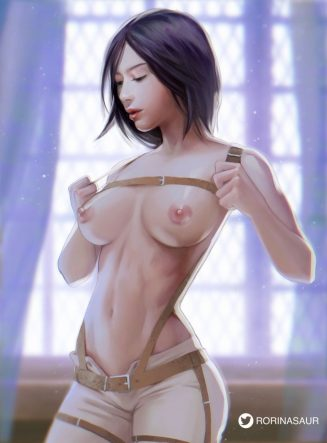 Forty More Hentai Pics Of Mikasa Ackerman from Attack on Titan 16