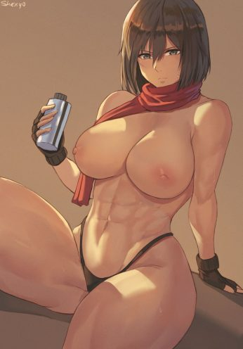 Forty More Hentai Pics Of Mikasa Ackerman from Attack on Titan 41