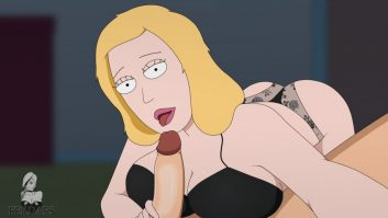 Thirty Hentai Pics Of Beth Smith From Rick and Morty 11
