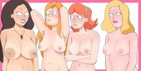 Thirty Hentai Pics Of Beth Smith From Rick and Morty 19