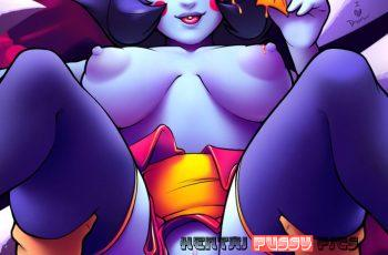 Forty More Hentai Pics Of Hsien Ko From Darkstalkers 24