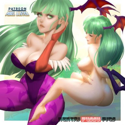 Forty More Darkstalkers Hentai Pics From Morrigan Aensland 1