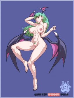 Forty More Darkstalkers Hentai Pics From Morrigan Aensland 11