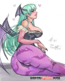 Forty More Darkstalkers Hentai Pics From Morrigan Aensland 18
