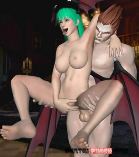 Forty More Darkstalkers Hentai Pics From Morrigan Aensland 25
