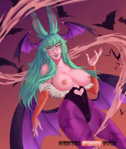 Forty More Darkstalkers Hentai Pics From Morrigan Aensland 27