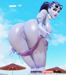 Forty More Hentai Pics Of Widowmaker From Overwatch 3