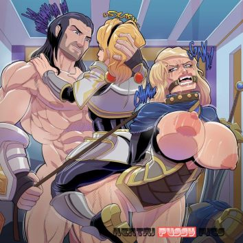 Forty Hentai Pics Of Luxanna Crownguard From League Of Legends 15