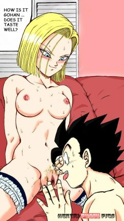 Forty More Hentai Drawings Of Android 18 From Dragon Ball 21