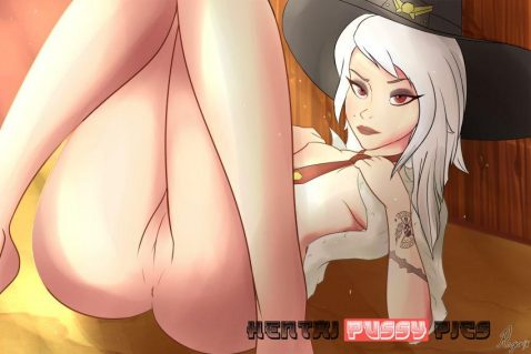 Forty More Hot Hentai Pics Of Ashe From Overwatch 35