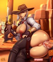 Forty More Hot Hentai Pics Of Ashe From Overwatch 37