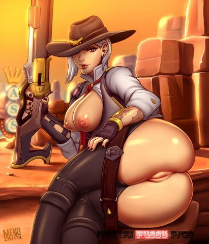 Forty More Hot Hentai Pics Of Ashe From Overwatch 41