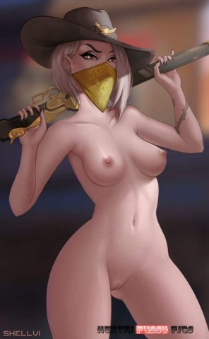 Forty More Hot Hentai Pics Of Ashe From Overwatch 42