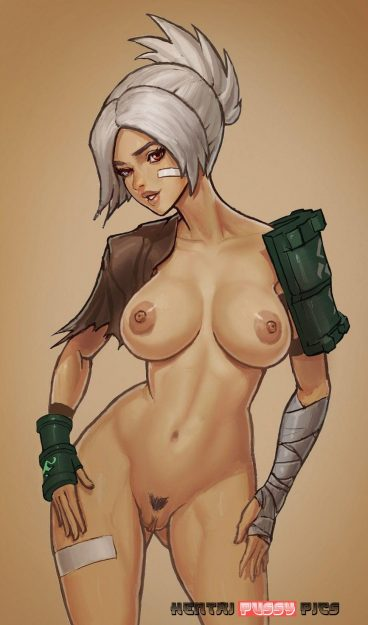 Forty Hentai Pics Of Riven From League Of Legends 18