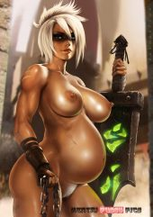 Forty Hentai Pics Of Riven From League Of Legends 34