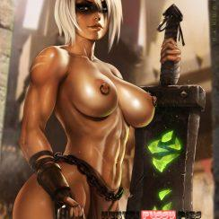Forty Hentai Pics Of Riven From League Of Legends 4