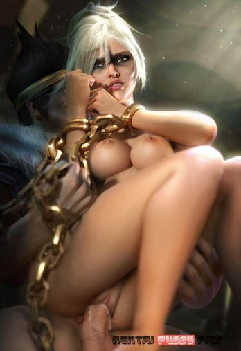 Forty Hentai Pics Of Riven From League Of Legends 41